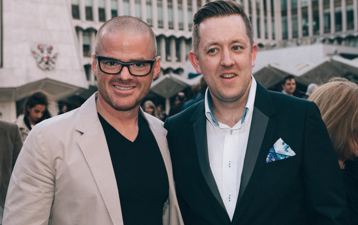 Heston Blumenthal - Erran Stewart Photography